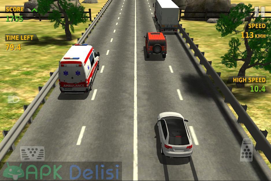 Traffic Racer v3.5 MOD APK — PARA HİLELİ 6