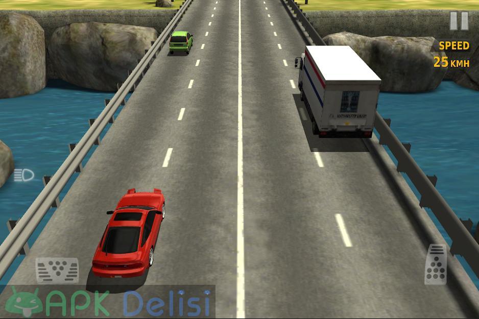 Traffic Racer v3.5 MOD APK — PARA HİLELİ 7