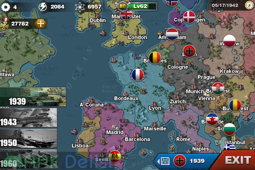 World Conqueror 3 v1.2.42 MOD APK — MADALYA HİLELİ 3