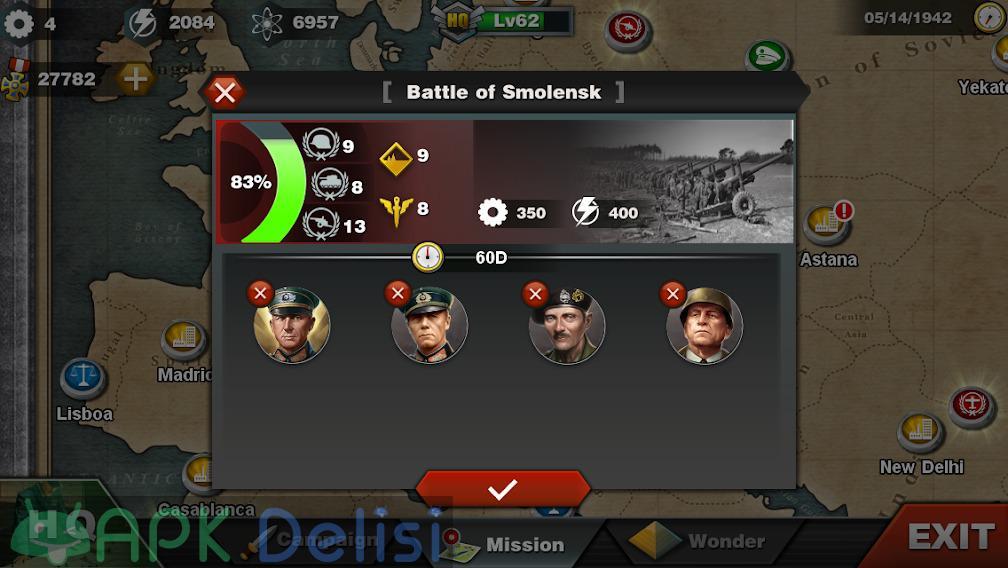 World Conqueror 3 v1.2.42 MOD APK — MADALYA HİLELİ 7
