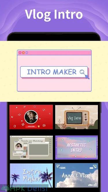 Intro Maker v4.7.4 VİP MOD APK – 3D İntro & Outro Yapıcı [TÜM ÖZELLİKLER AÇIK] 6