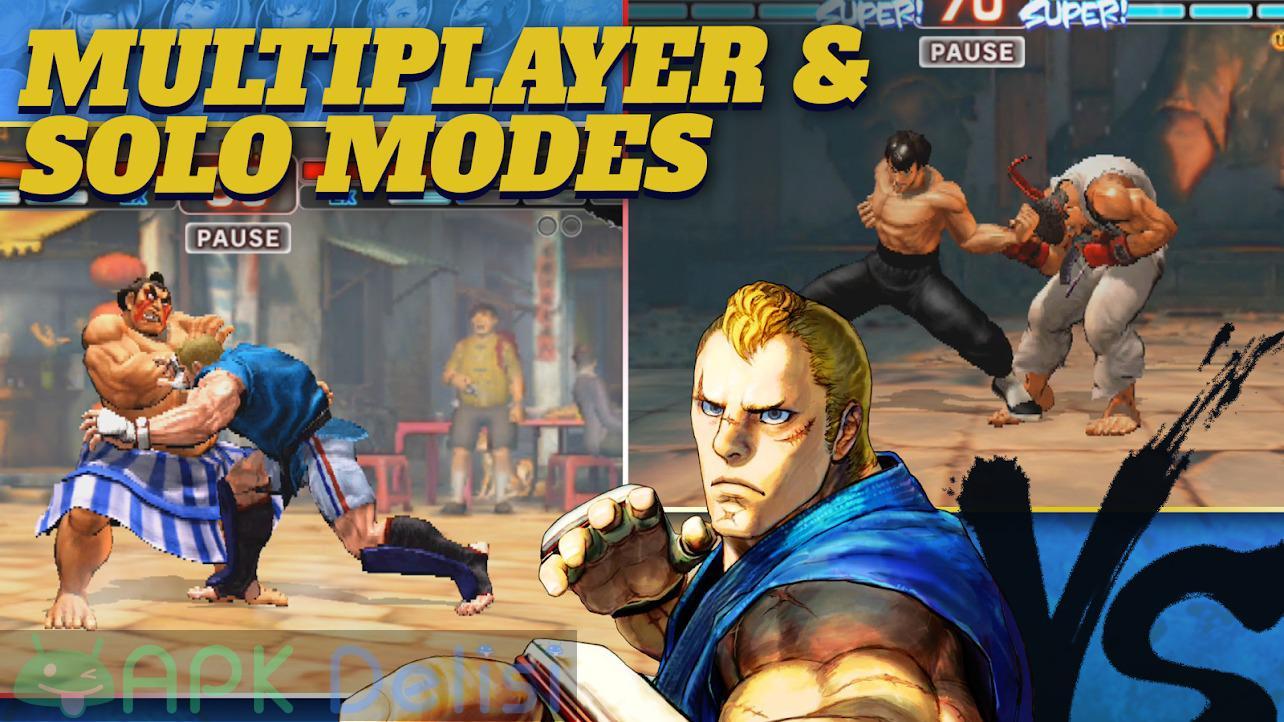 Street Fighter 4 Champion Edition v1.03.03 MOD APK — KİLİTLER AÇIK 5
