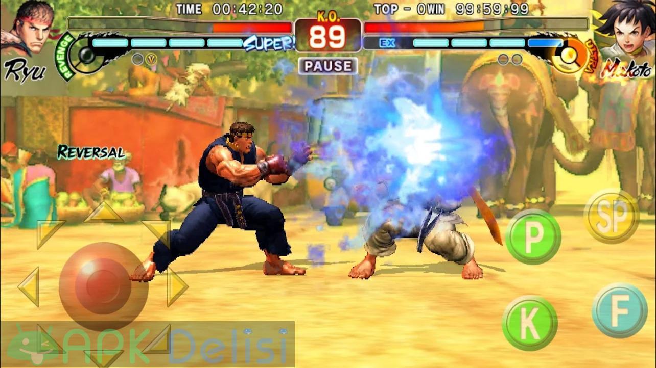 Street Fighter 4 Champion Edition v1.03.03 MOD APK — KİLİTLER AÇIK 8