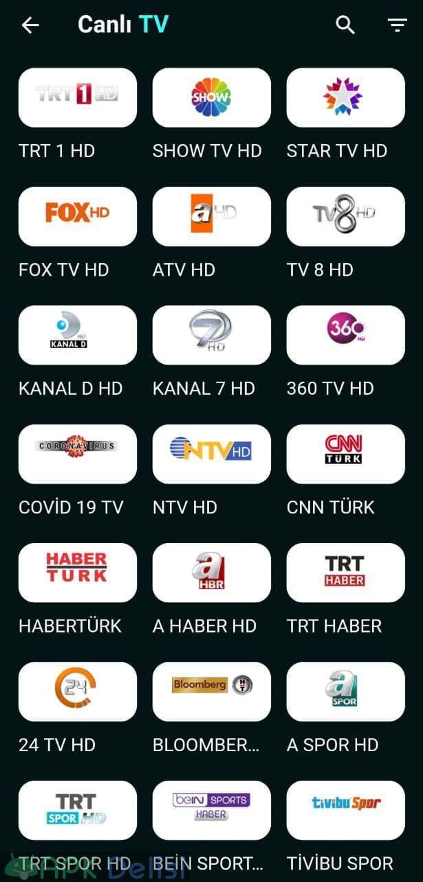 Deep TV PRO v1.0.34 REKLAMSIZ APK — CANLI MAÇ, EXXEN SPOR, NETFLİX, CANLI TV, 3