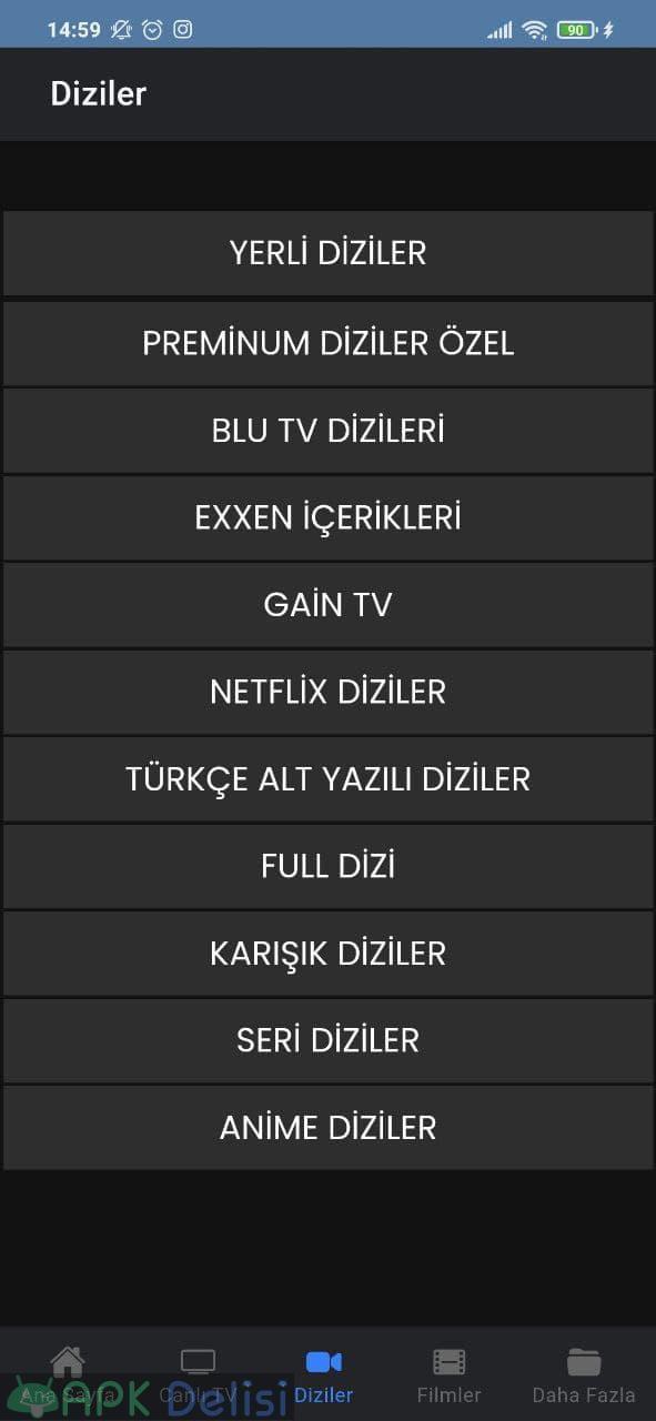 Karman TV v1.2 REKLAMSIZ APK — CANLI MAÇ EXXEN, BEİN SPORTS, BLUTV, NETFLİX, GAİN 4