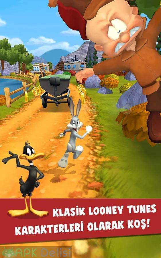 Looney Tunes Dash v1.93.03 MOD APK — SINIRSIZ PARA HİLELİ 3