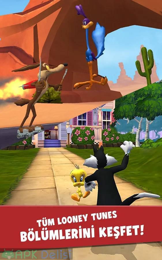 Looney Tunes Dash v1.93.03 MOD APK — SINIRSIZ PARA HİLELİ 4