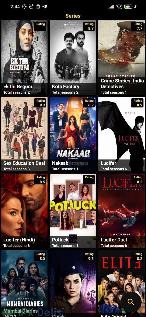 Pikashow v10.6.8 MOD APK — LİVE TV, NETFLİX (NO ADS) 4