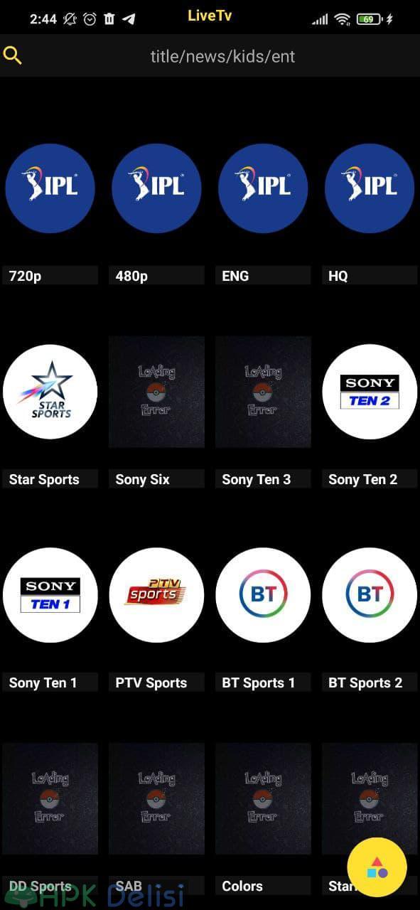 Pikashow v10.6.8 MOD APK — LİVE TV, NETFLİX (NO ADS) 5