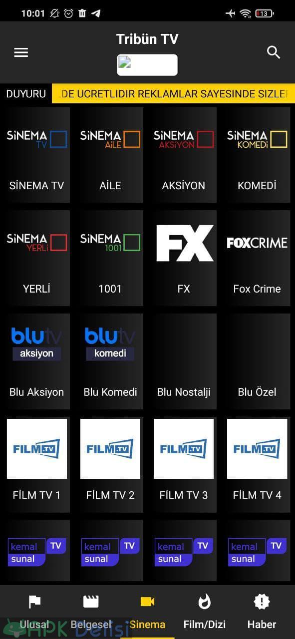 Tribün TV v6.1 REKLAMSIZ APK — EXXEN, BEIN SPORTS, TİVİBU, FİLM VE DİZİ 5